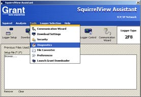Grant SquirrelView Software screen shot