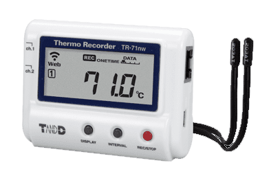 chemical storage safety data logger