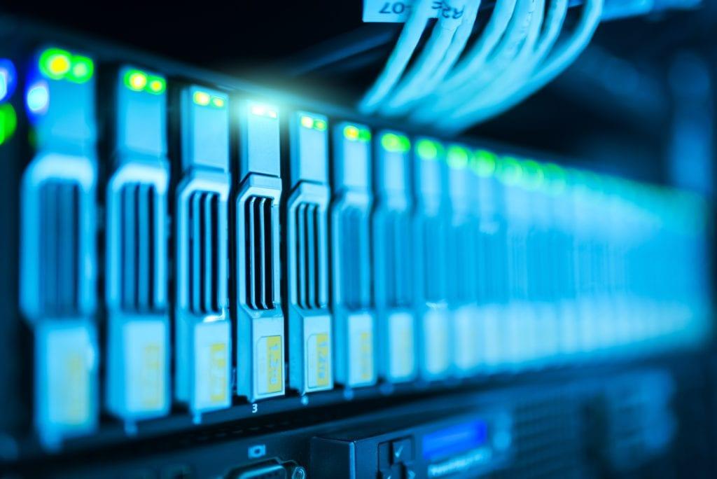server room monitoring system application photo