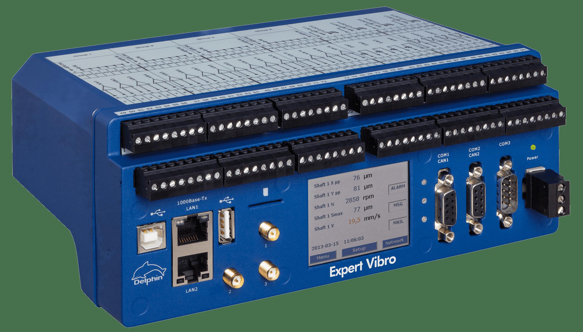 vibration monitoring DAQ System