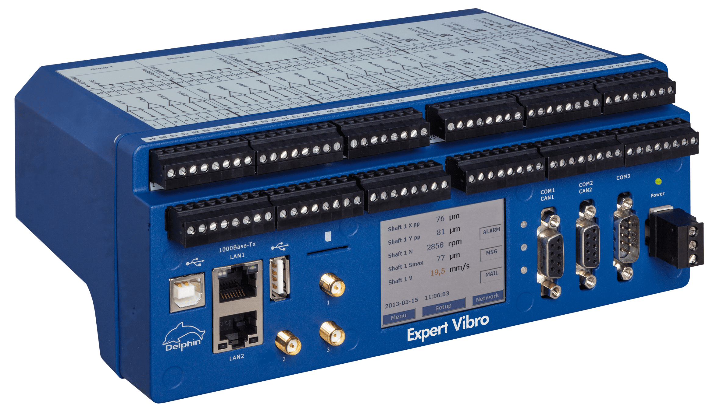 vibration measurement system DAQ Systems