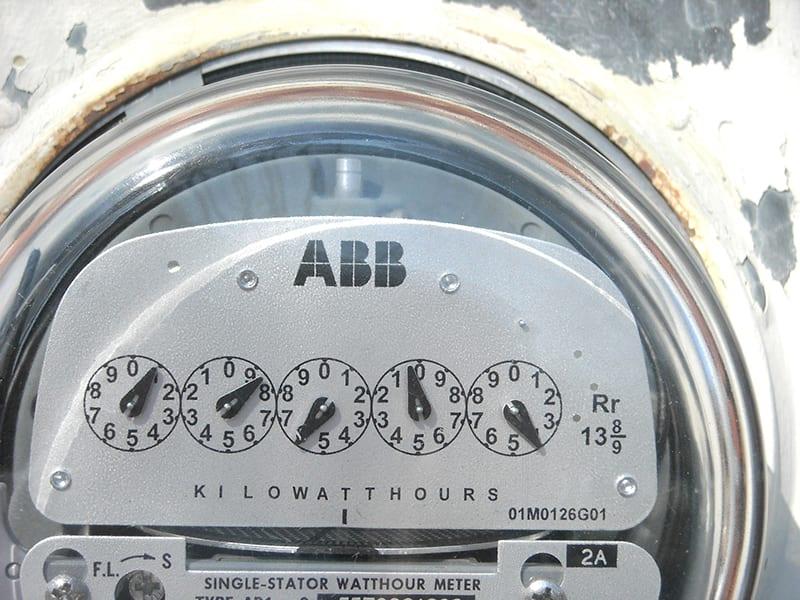 hvac monitoring equipment power meter application photo