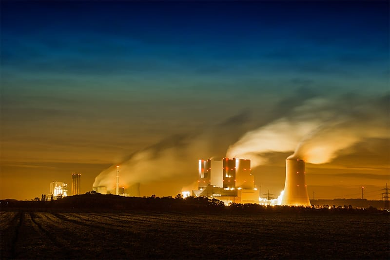 energy-consuming industries