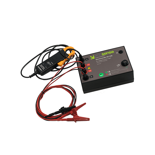 Accsense Electrocorder DC-3VA DC Voltage Current Data Logger