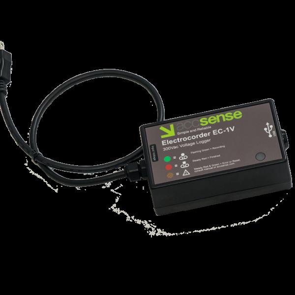 Accsense Electrocorder EC-1V Single Phase Voltage Logger