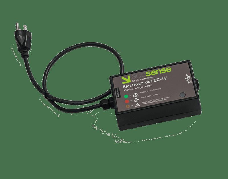 Accsense Electrocorder EC-1V AC Voltage Data Logger