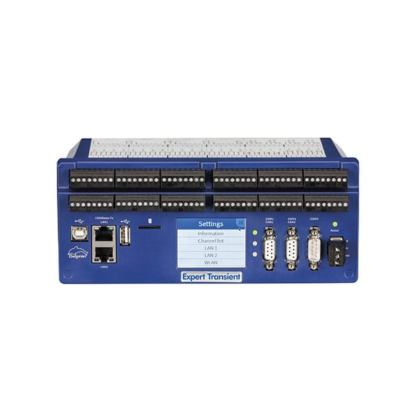 Delphin Expert Transient High Speed Data Acquisition and Control System