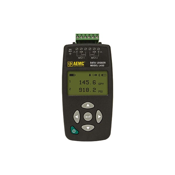 AEMC L452 DC Voltage and Current Data Logger