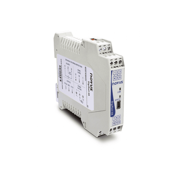 DigiRail-VA Single Phase AC Power Analysis Logger