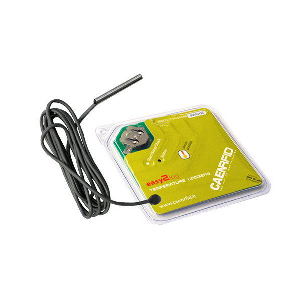 RT0005 RFID Temperature Logger Semi-Passive UHF Tag With External Probe with probe