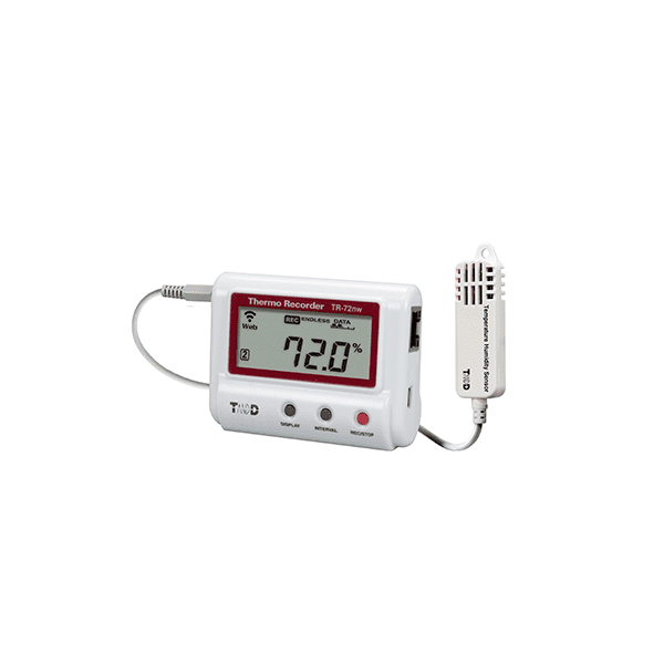 T&D TR-72nw-H Wired LAN High Accuracy Temperature and Humidity Data Logger