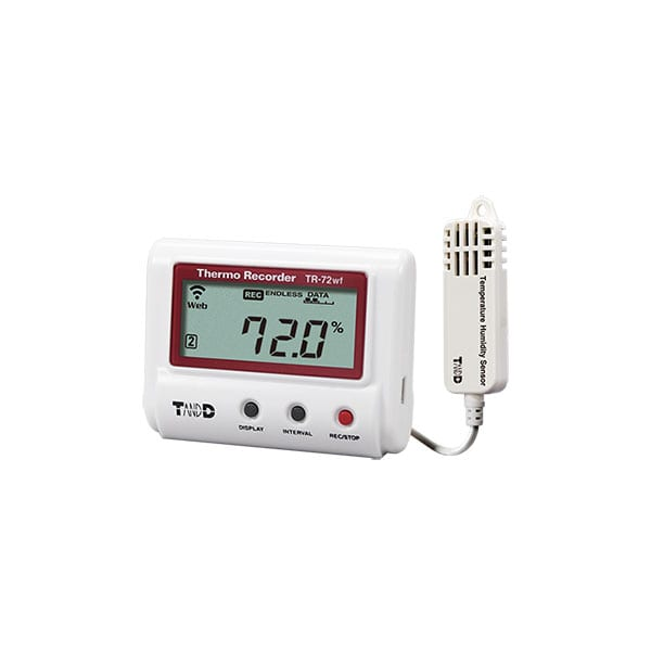 TR-72wf-H High Precision Temperature and Humidity Data Logger