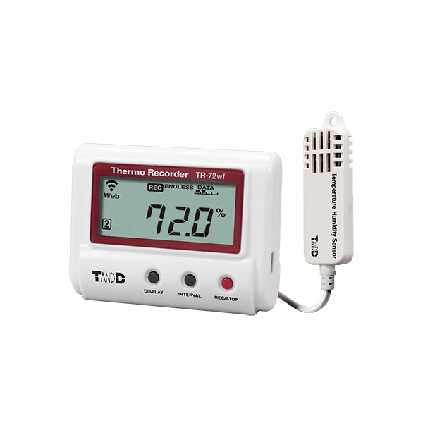 T&D TR-72wf-H High Precision Temperature and Humidity Data Logger