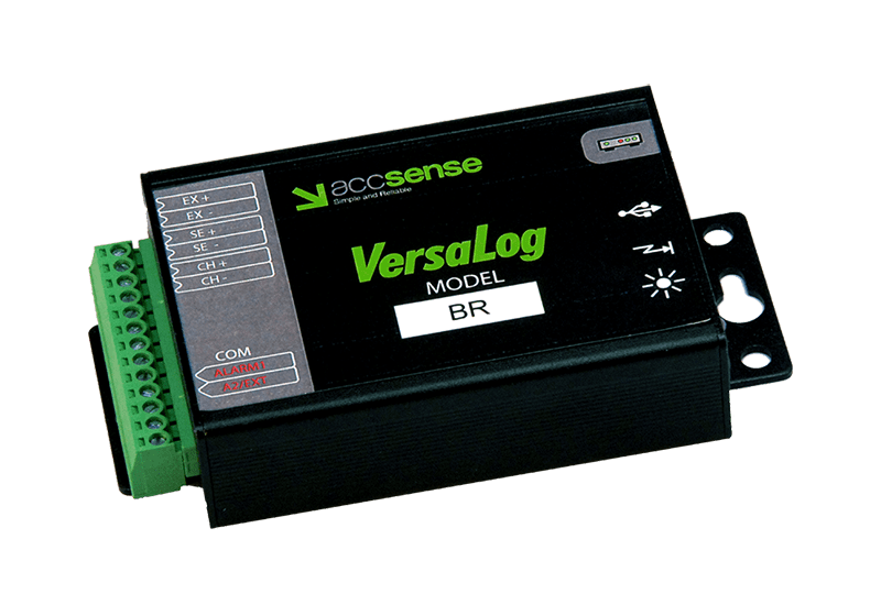 VersaLog BR Strain Gauge Bridge Data Logger