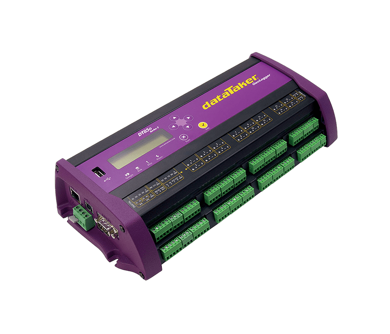 dataTaker DT85G intelligent vibrating wire data logger