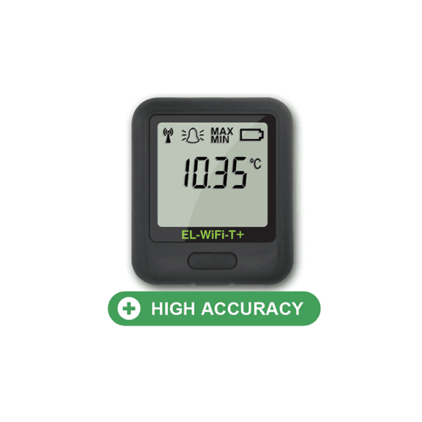 Lascar EL-Wifi-T-Plus High Accuracy WiFi Temperature Data Logger