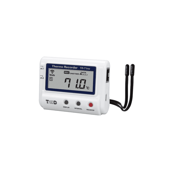 T&D TR-71nw Wired LAN Temperature Data Logger