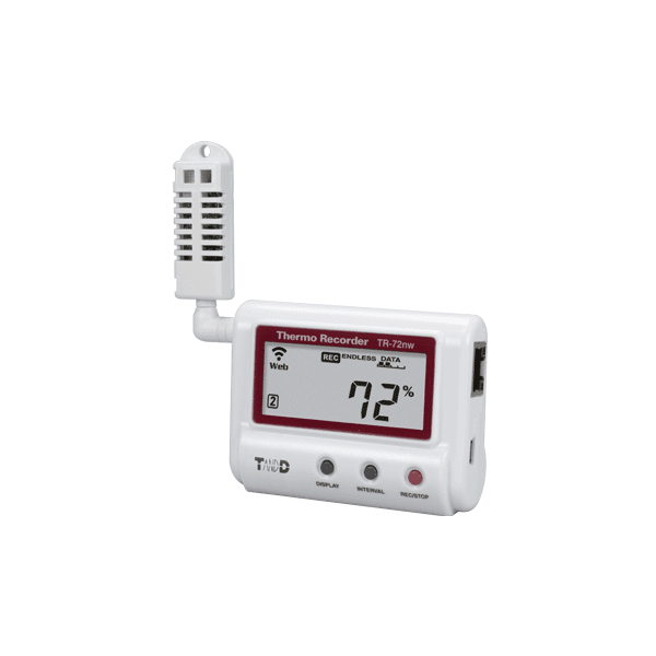 T&D TR-72nw Wired LAN Temperature and Humidity Data Logger