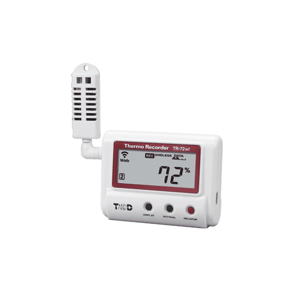 T&D TR-72wf Temperature and Humidity Data Logger
