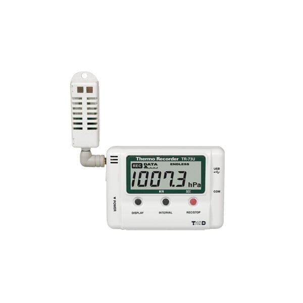 Low Pressure Data Logger : Tr u usb humidity temperature pressure data logger cas