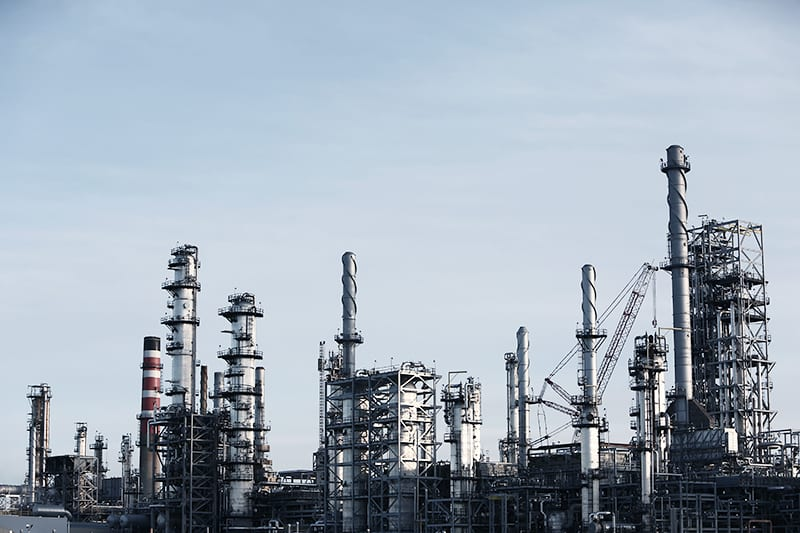 oil refinery uses standalone data logger