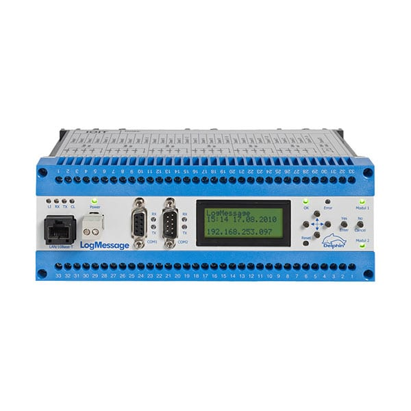 Delphin LogMessage Data Acquisition System