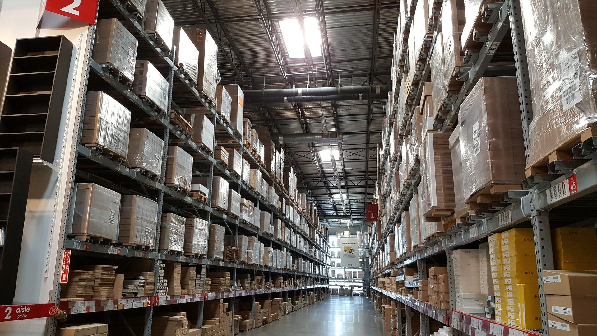 warehouse temperature and humidity monitoring application photo