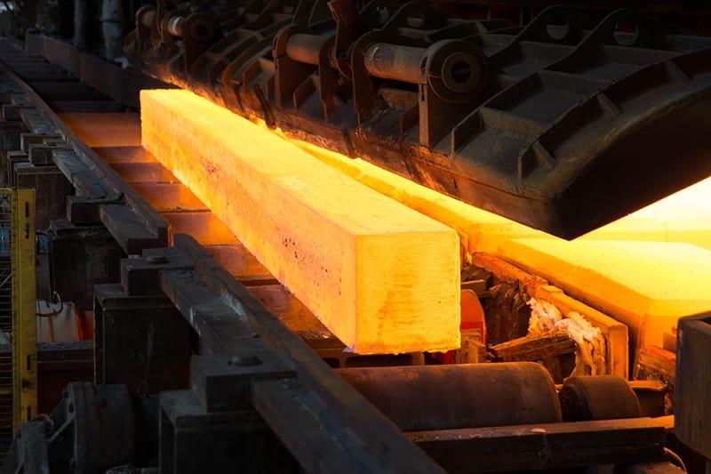 Monitoring metal alloys curing process