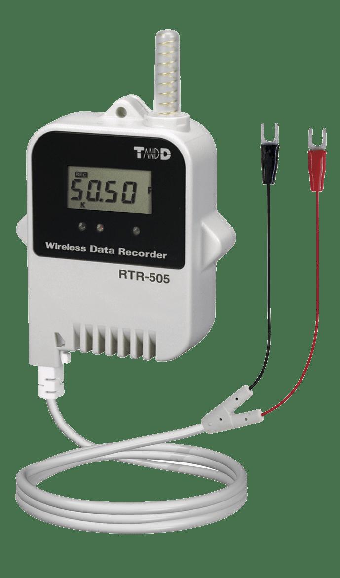 HVAC monitoring TandD rtr 505 p data logger