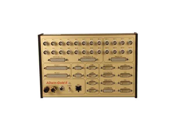 adwin-gold-ii real-time data acquisition system