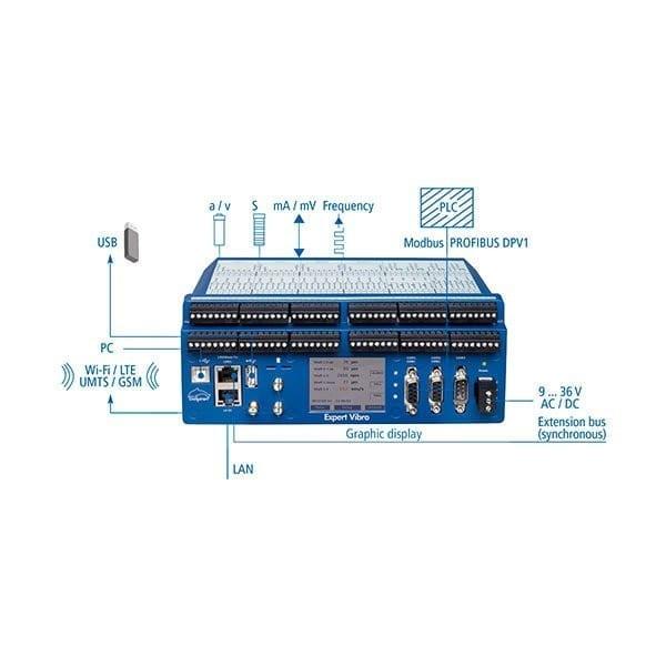 Expert Vibro EV-8 Data Acquisition System