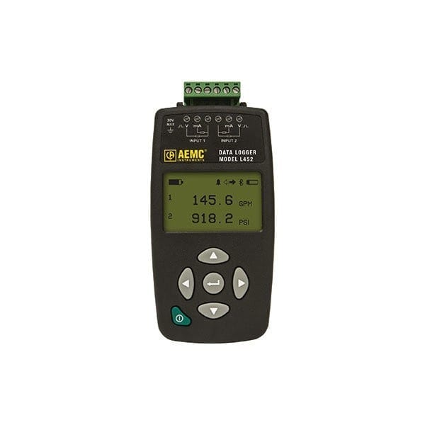 L452 DC Voltage Current Data Logger