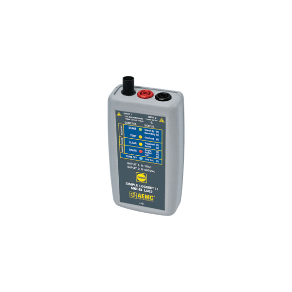 L562 TRMS AC Voltage Current Data Logger