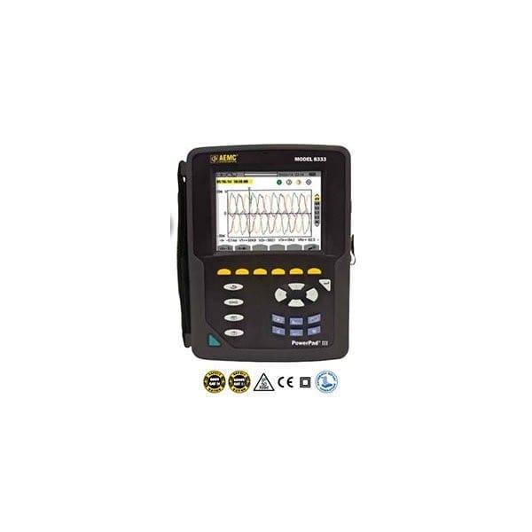 Powerpad III 8333 Three Phase Power Quality Analyzer