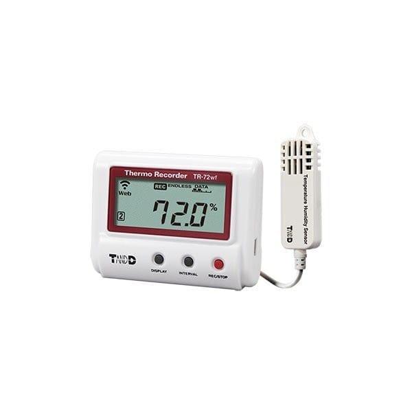 tr-72wf-s wifi temperature humidity data logger