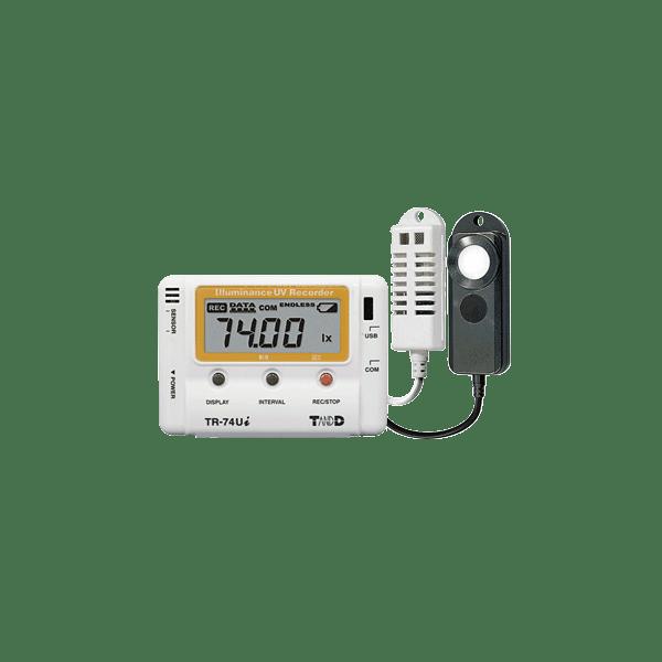 tr-74ui temperature humidity light data logger