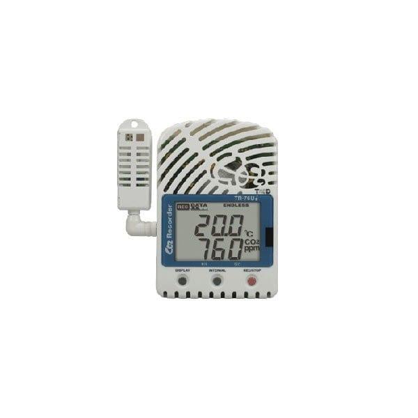 tr-76ui usb temperature humidity co2 data logger