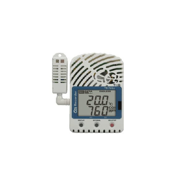 tr-76ui usb temperature humidity co2 data logger