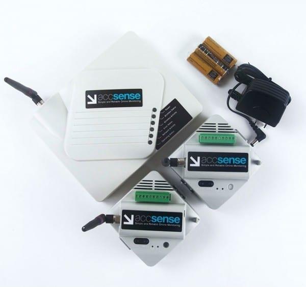 Wireless Refrigerator Freezer Monitoring Kit