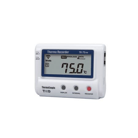 tr-75nw ethernet temperature data logger