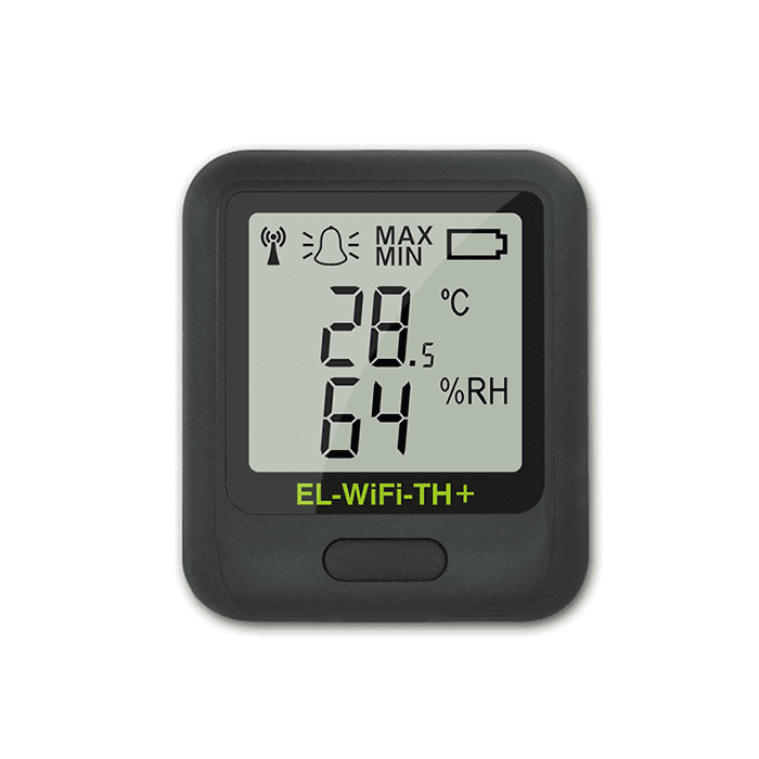 El Wifi Th Plus Wifi Temperature Humidity Data Logger Cas