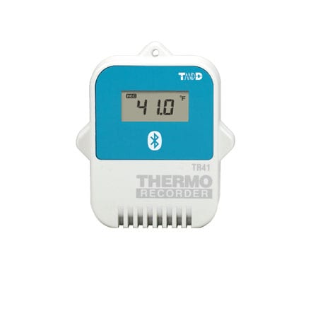 tr42 bluetooth temperature data logger