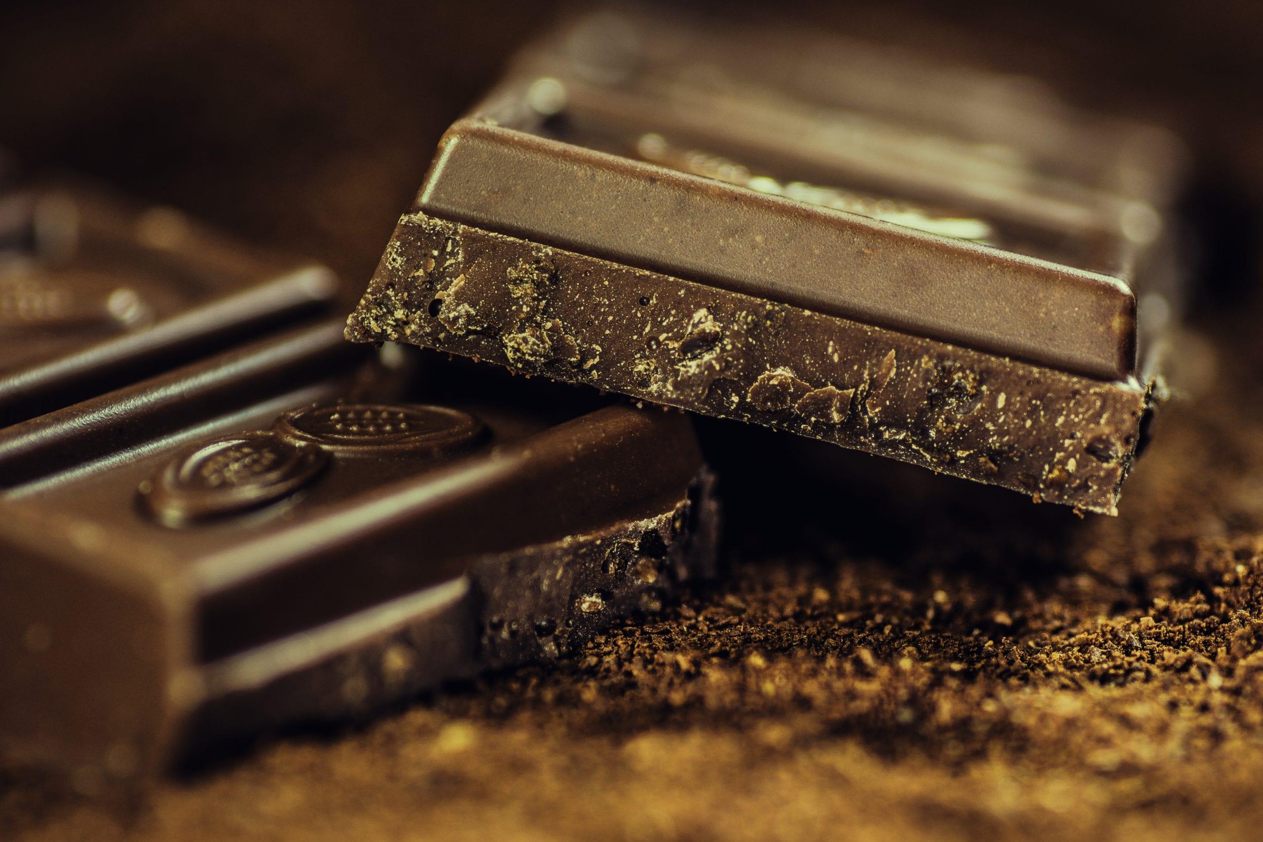 chocolate storage temperature